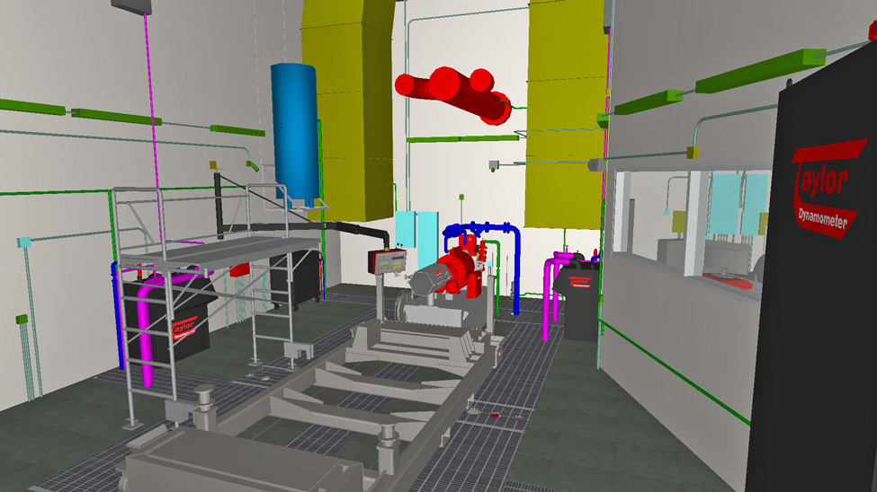 Engine Test Cell 3D