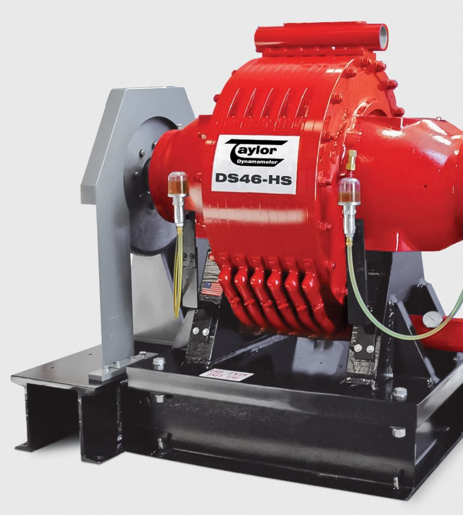 DS Series Water Brake Engine Dynamometer
