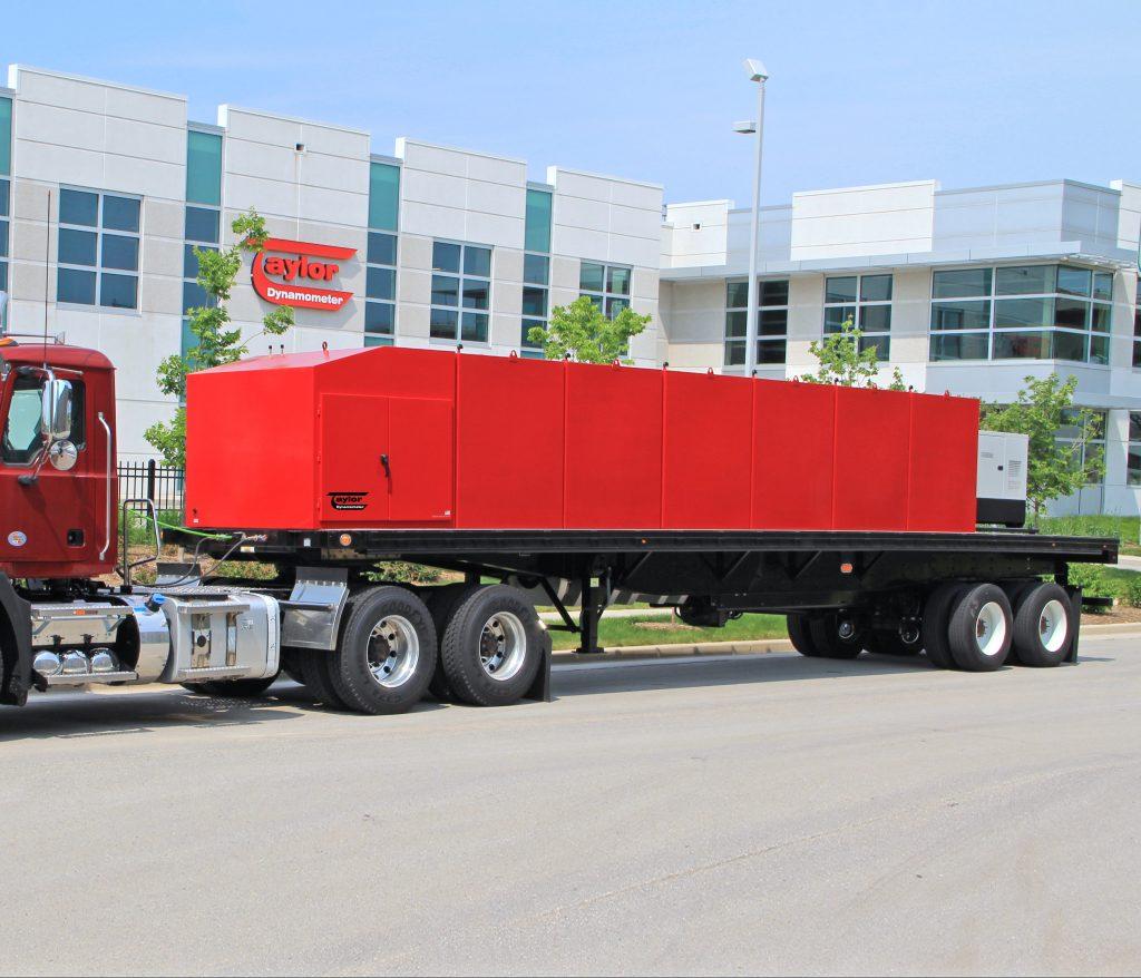 Heavy-Duty Truck Towing Dynamometer