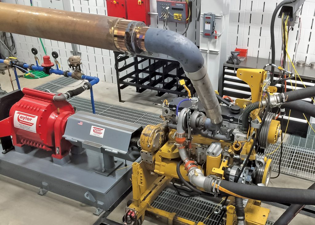 Construction Engine Dyno Application
