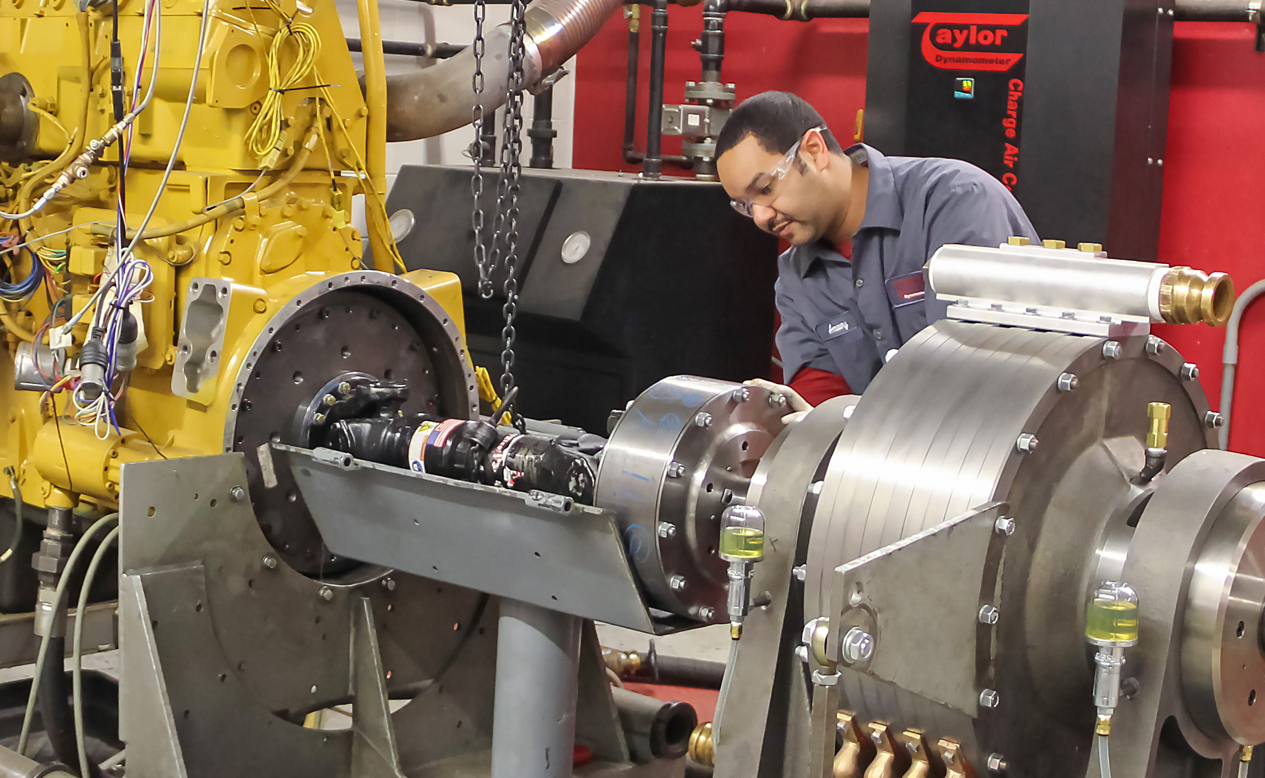 Dynamometer Facility Support Systems