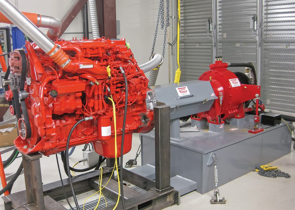Marine Engine Dyno Application