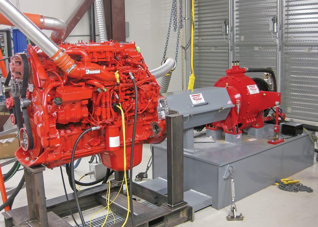 Marine Engine Dyno Application