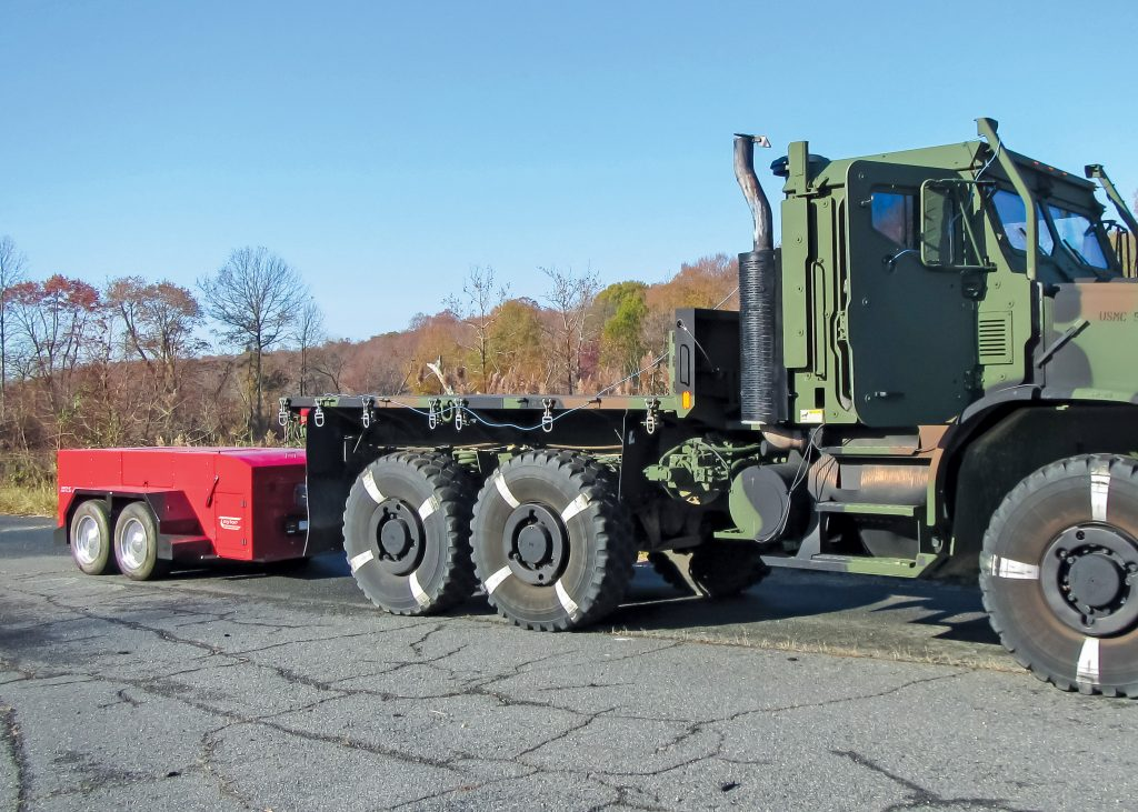 Military Towing Dynamometer Application