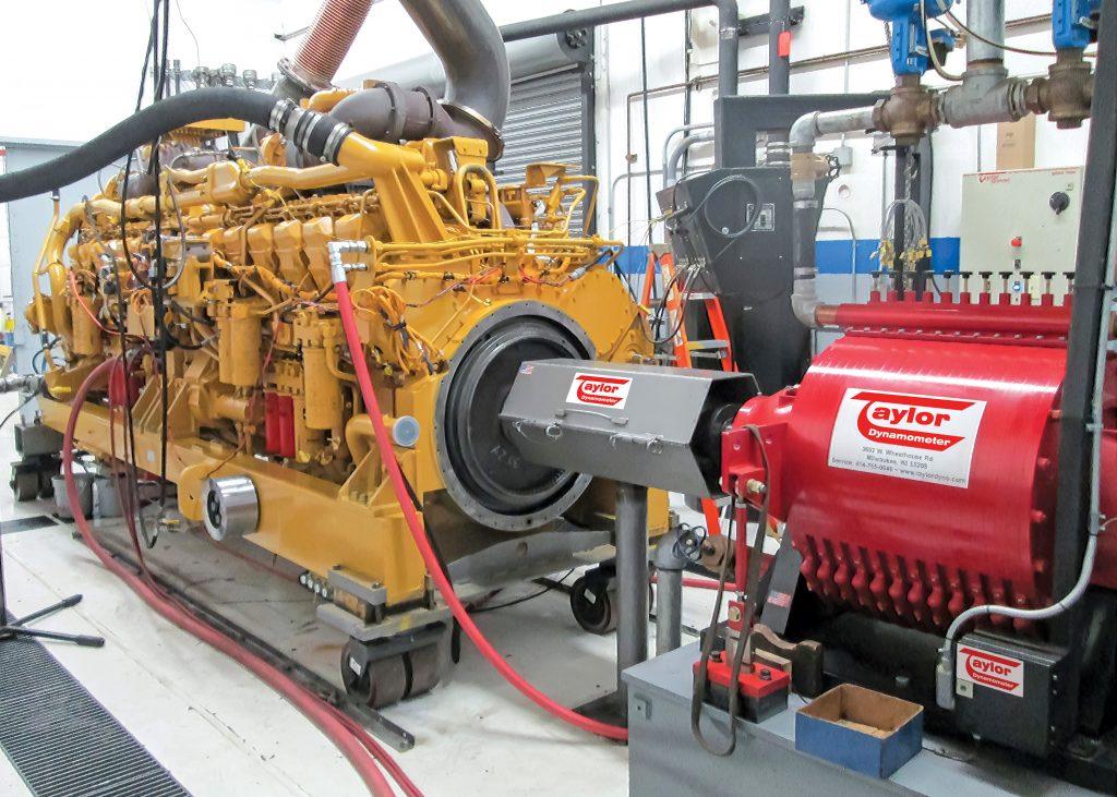 Mining Engine Dyno Application