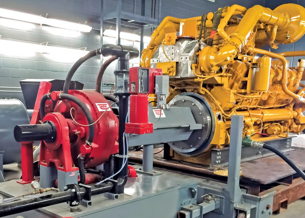 Oil and Gas Engine Dynamometer Application