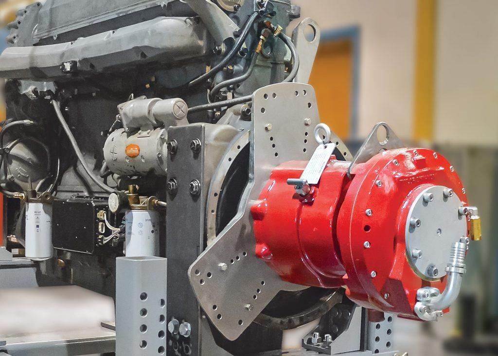 Transportation Engine Dynamometer Application