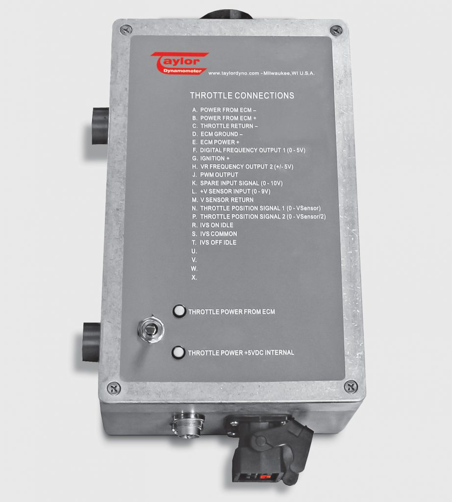 Electric Throttle Control Box